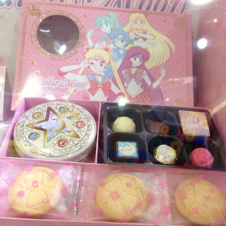 Sailormoon chocolates  www.the.rainbowholic.me