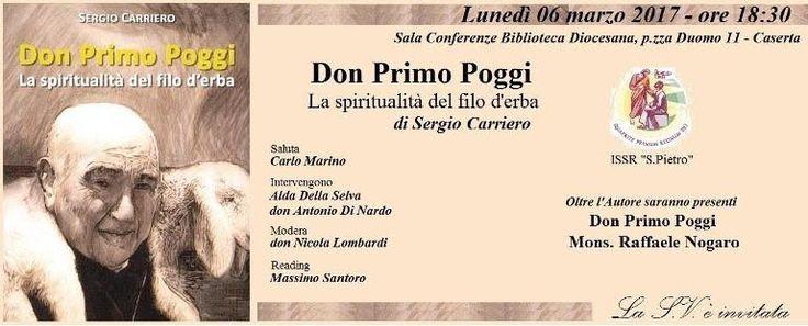 """Il nuovo lavoro di Sergio Carriero: """"Don Primo Poggi - La spiritualità del filo d'erba"""" a cura di Redazione - http://www.vivicasagiove.it/notizie/il-nuovo-lavoro-di-sergio-carriero-don-primo-poggi-la-spiritualita-del-filo-derba/"""