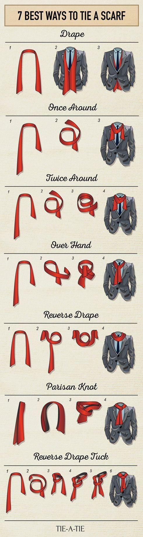 Sácale provecho a tu bufanda y lúcela de una forma muy original con este tutorial.