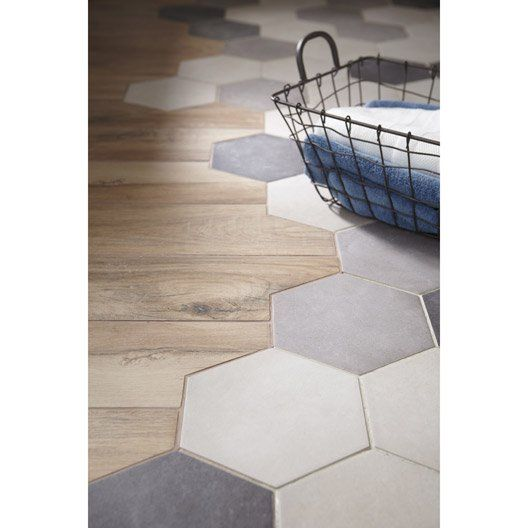 Carrelage sol et mur gris ciment effet b ton time x l for Carrelage 80x80 gris anthracite