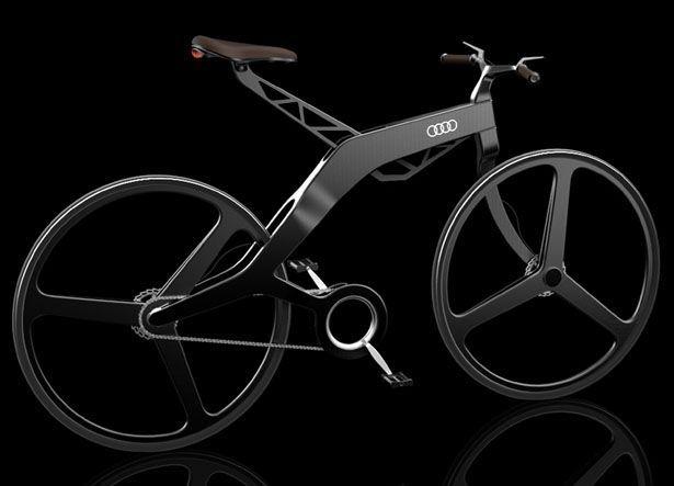 Audi Bike Concept by Vladimer Kobakhidze | Tuvie