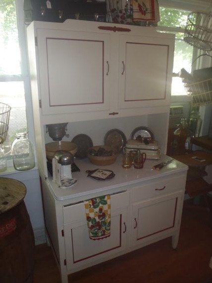 vintage 1920s kitchen hoosier cabinet by paintedladyantiques