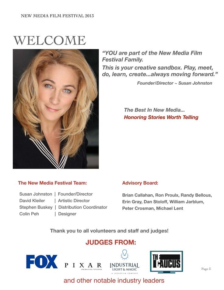 4th Annual New Media Film Festival (: