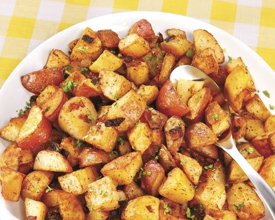 Penzeys northwoods potatoes-- SO delish, easy, and perfect for chilly nights.