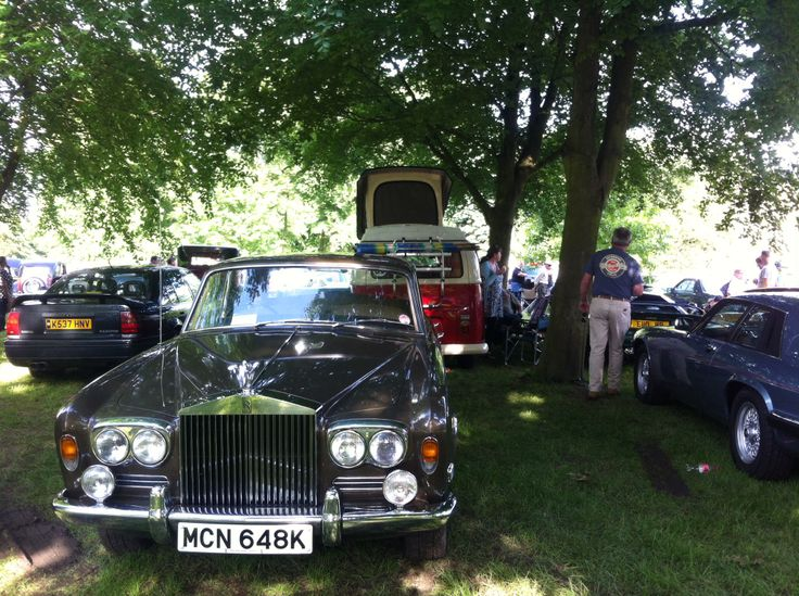 Taken at the classic car show, Renishaw Hall