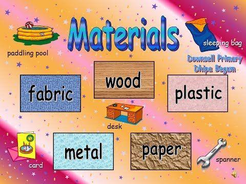 ManMade Materials and Natural Materials - YouTube