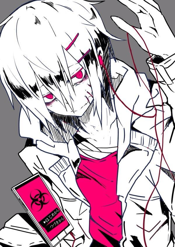 Image Result For Anime Boy Zombie Anime Zombie Anime Boy Dark Anime