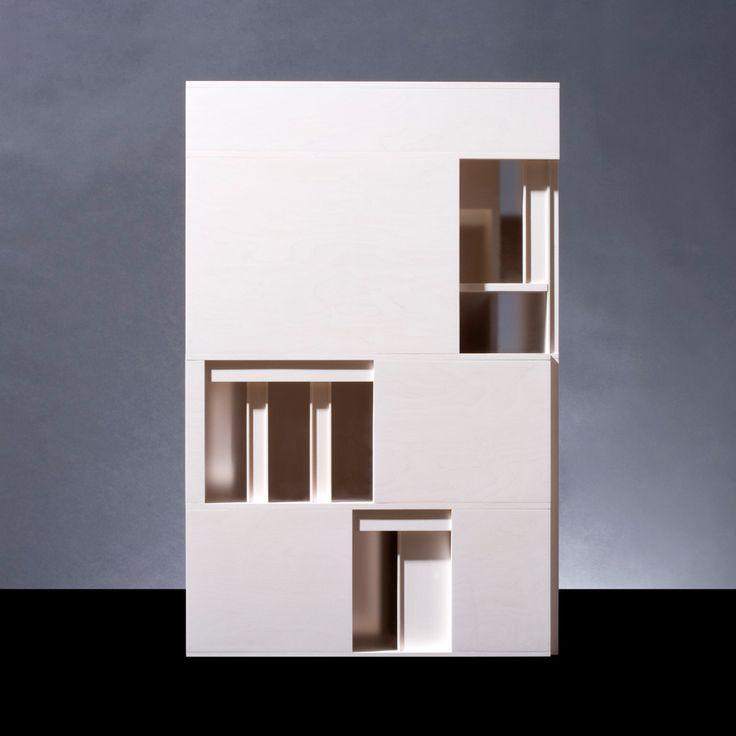 © Richard Davies for David Chipperfield Artchitects #compositie #verhoudingen #arquitectura #maquetas #david chipperfield