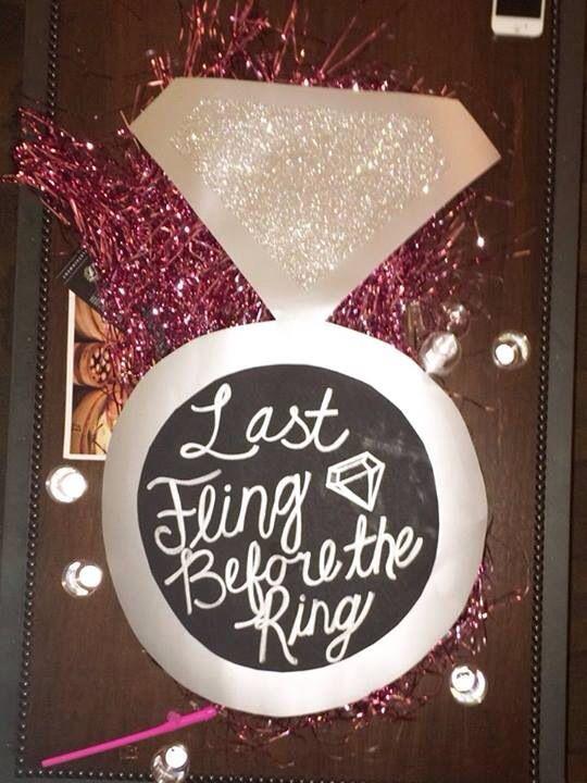Cute idea for bachelorette party!