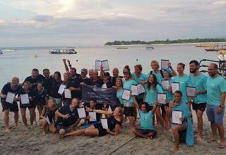 PADI IDC Gili Islands Indonesia, PADI Career development dive resort: Fantastic February PADI IDC Gili Air with Course D...