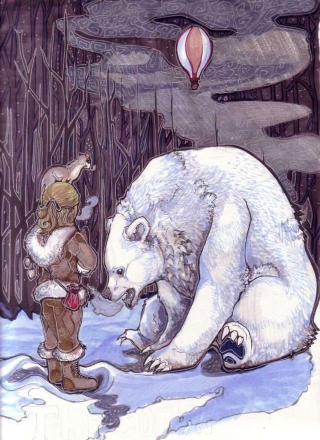 The North- The Golden Compass by ~zirofax My favorite wintertime read... I love it more than Harry Potter, sorrynotsorry