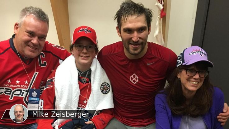 Ovechkin fulfills promise to 13-year-old cancer survivor | NHL.com  Amazing hockey player but a great person.