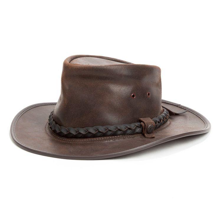 Chapeau en cuir australien M   Nature & Découvertes