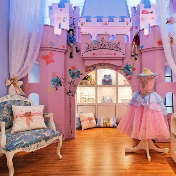 Schloss im zimmer kinderzimmer prinzessin pinterest for Fairy princess bedroom ideas