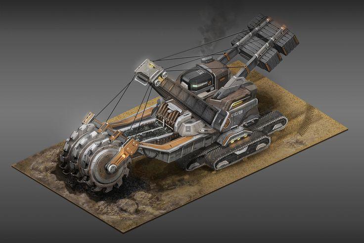 ArtStation - Anno 2070: Tycoon buildings, Tobias Frank
