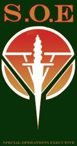 Le Special Operations Executive (SOE, « Direction des opérations spéciales ») est un service secret britannique qui opéra pendant la Seconde Guerre mondiale (créé le 19-22 juillet 1940 par Winston Churchill ,Le 30 juin 1946, le SOE, devenu sans objet, est dissous. Ce qui reste du personnel et des équipements est absorbé par le MI6,