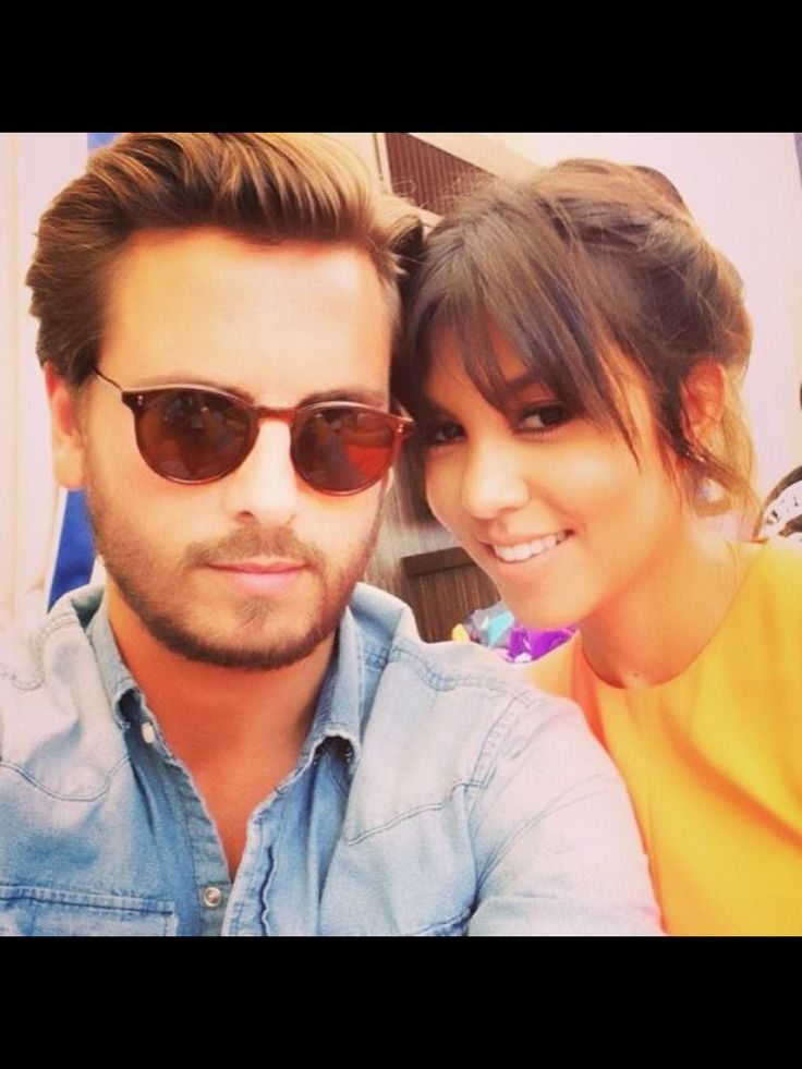 Lord Disick and Kourtney - via Keeping up with the Kardashians E! Entertainment