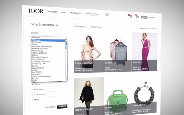 Joor is an online marketplace that connects fashion buyers with brands.
