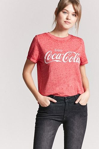 87687895 Women's Graphic Tees | Muscle Tanks, T-Shirts & More | Forever21 ...