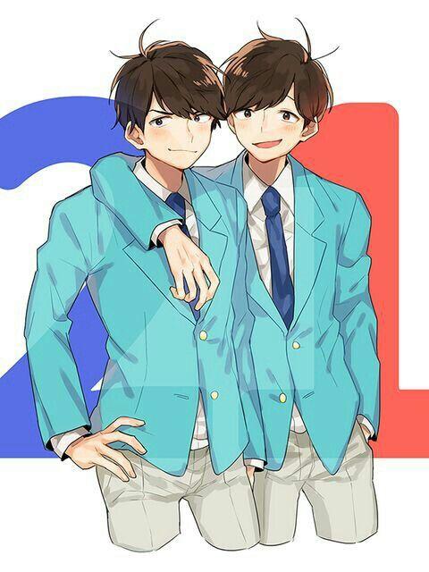 Osomatsu-san- Osomatsu and Karamatsu #Anime「♡」