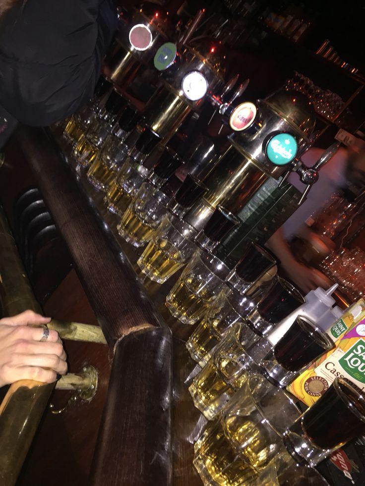 St-Georges Tavern Friends Trip Paris Drink JagerBomb