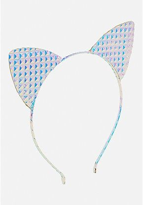 Apparel Accessories 1 Pc Stylish Girls Cat Ears Hair Accessories Headband Children Baby Hair Band Sexy Lace Ears Self Photo Prom Party Hair Band Traveling