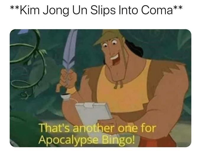 Apocalypse Bingo Memes Are A Checklist Of All The Horrible Things Happening In 2020 Memebase Funny Memes Funny Memes Funny Relatable Memes Memes