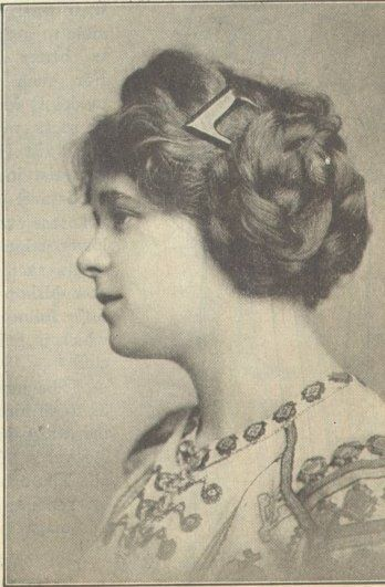 33 Best 1910 S Hairstyles Images On Pinterest Vintage