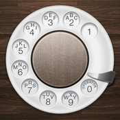iRetroPhone - Rotary Dialer  By ObjectGraph LLC    Take your iphone back to the 20th Century.