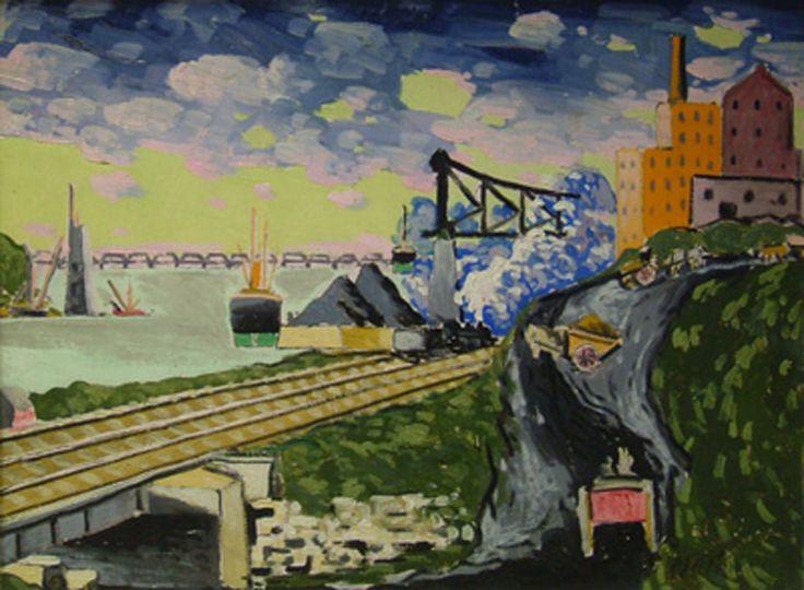 Marc-Aurèle Fortin - Le port