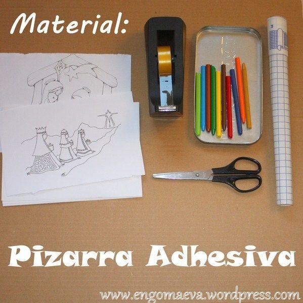 DIY: Adhesive chalkboard (Pizarra Adhesiva)