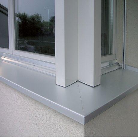 Concrete window sill / aluminum / composite / exterior Stahlton