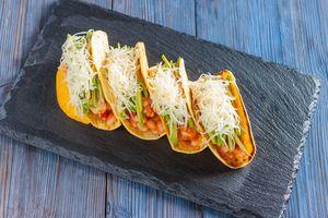 Мексиканские тако (tacos) с курицей