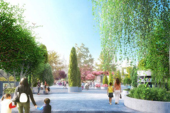MVRDV wins competition to transform abandoned highway section into Seoul Skygarden – World Landscape Architecture