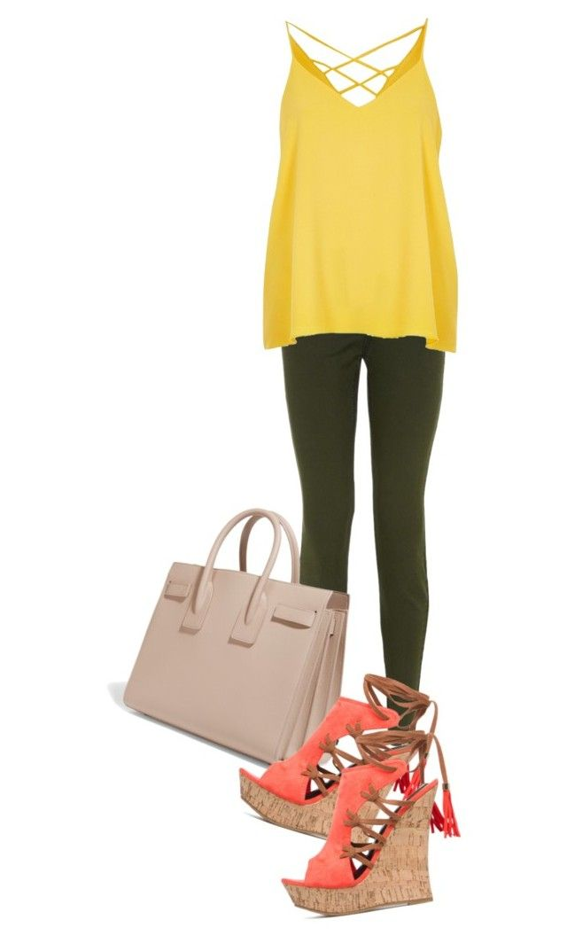 """""""La tempestad ep 31"""" by xrisavladi ❤ liked on Polyvore featuring New Look, River Island and Yves Saint Laurent"""