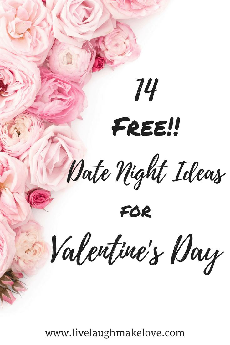 14 Free Date Night Ideas for Valentines Day, and everyday. Make today extraordinary.