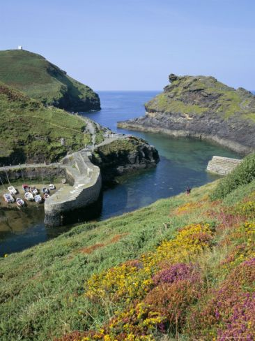 Boscastle Harbour, Boscastle, Cornwall, England, United Kingdom