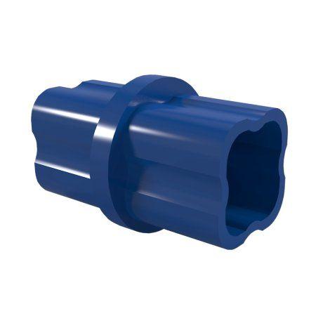 Formufit F114ICO-BL-10 Internal PVC Coupling, Furniture Grade, 1-1/4 inch Size, Blue , 10-Pack
