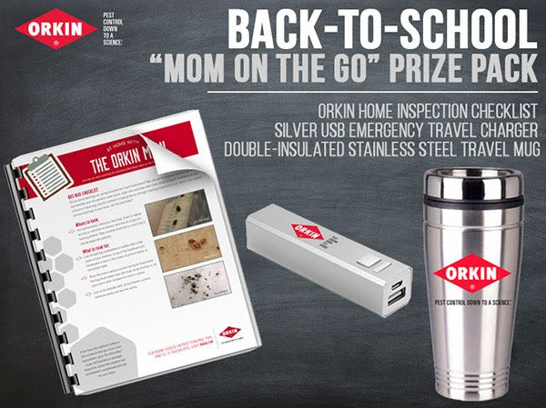 Orkin Household Pests 101  Back to School Bundle US Only, ends 9/8/15