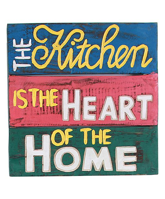 'Heart of the Home' Wood Wall Art