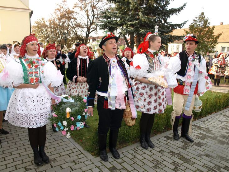 Vracov - costumes from South Moravia, Czech Republic