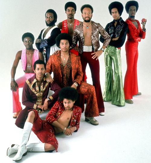 Earth Wind & Fire...my older sisters would know more about them, hahaha