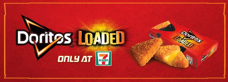 Doritos Loaded from 7-Eleven are nacho-shaped breaded cheese bites with Doritos flavoring.