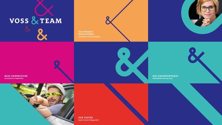Mitteldeutscher Rundfunk   »Voss & Team«   Ein flexibles On-Air-Design für das moderne Ombuds- und Verbraucherformat   by Sehsam #portfolio #layout #logo #corporatedesign #corporate #design #logodesign #digitalartist #inspiration #business #office #ideen #sehsam