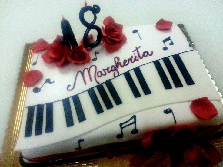pianoforte #cakedesign di simocakedesign