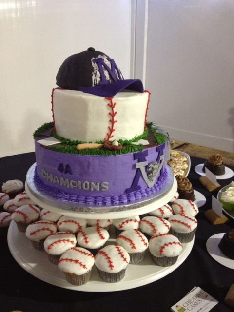 All about baseball. #baseball #cakes
