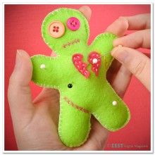 Valentine the Voodoo Pincushion: DIY Valentine's Day Voodoo Doll Pincushion
