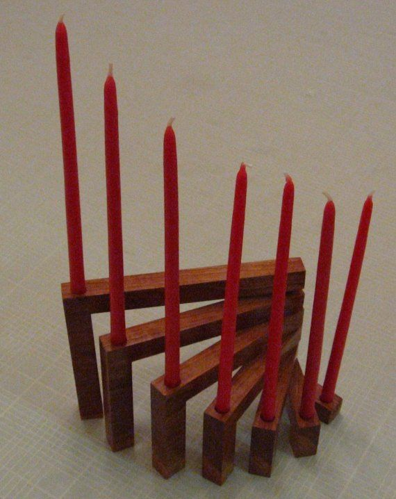 Modern and affordable menorah  $24.99