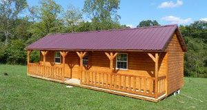 Small Log Cabins | Factory Direct - Portable Pre Built Cabins - Dickson, Nashville, Franklin, Clarksville | Rent to Own