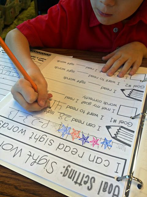 Guided Math Freebie and Sight Word Tracking - Tunstall's Teaching Tidbits